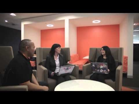 Amx Connects Bankwest S Perth Activity Based Workspace Youtube