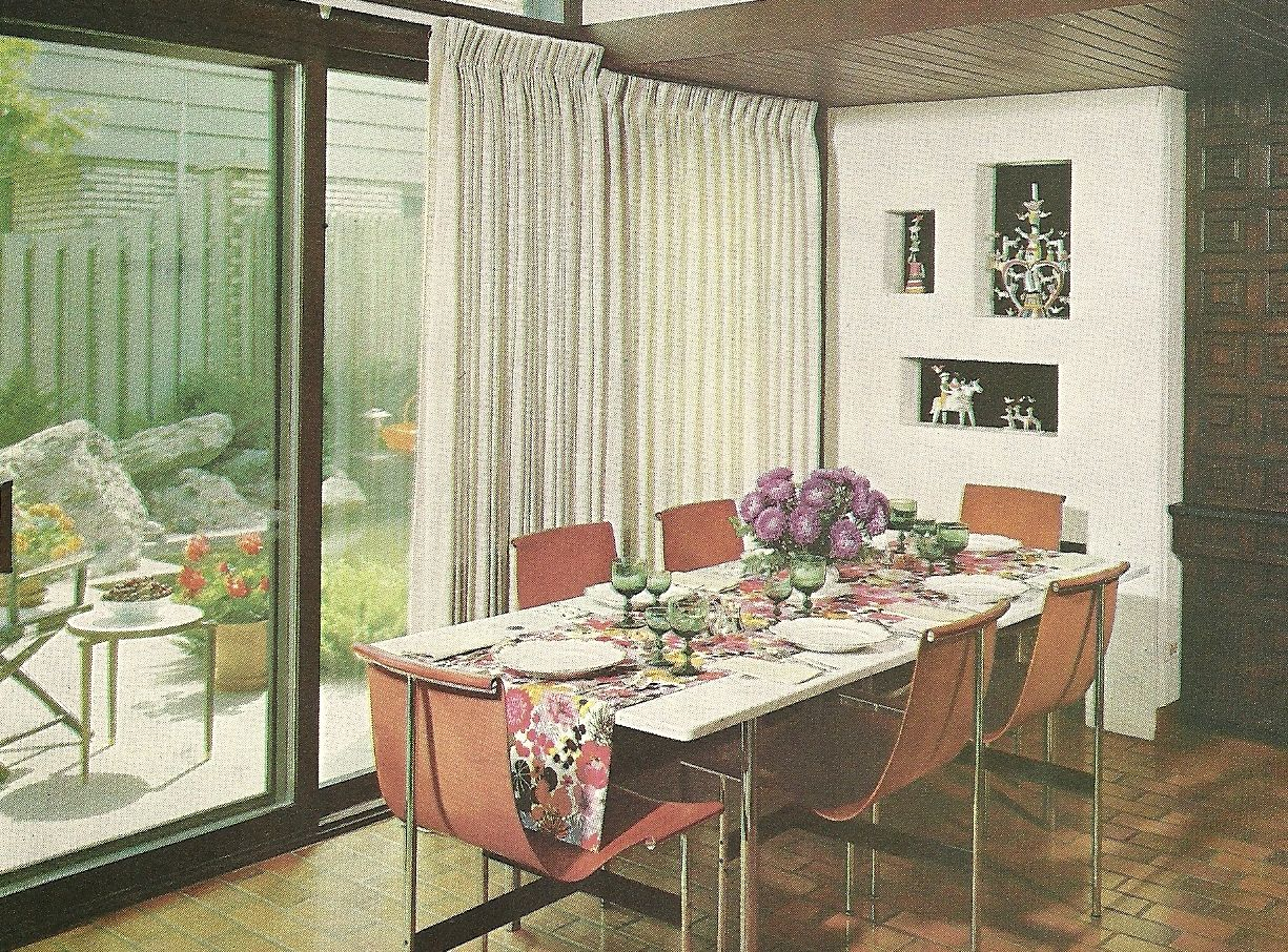 Vintage 1960s Home Decor Decorating. Late MCM - more ...