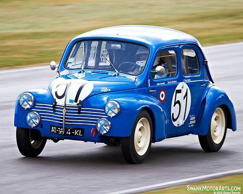 1951 Renault 4cv Renault 4 Classic Racing Cars Rally Car