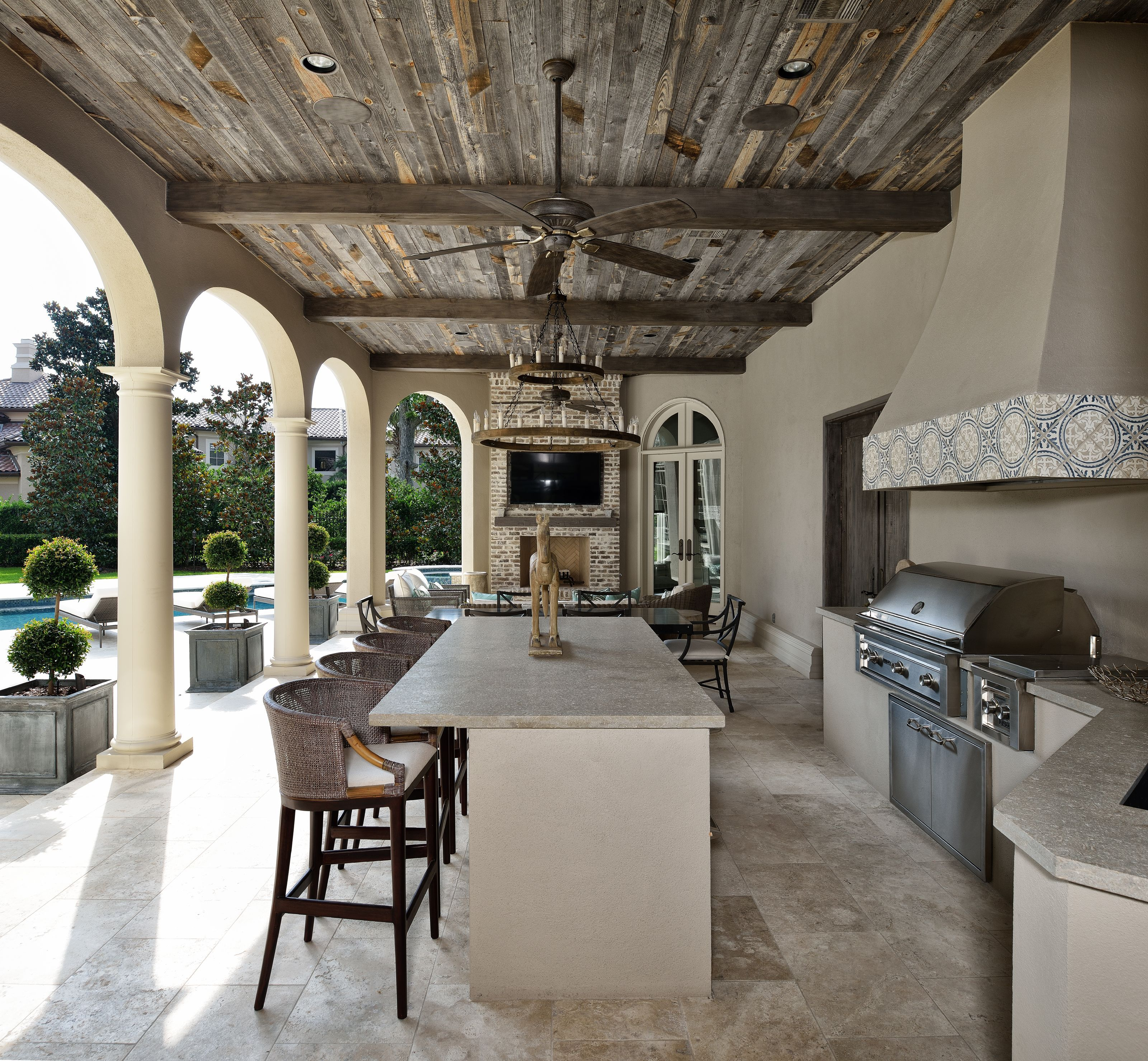 Cindy Witmer Designs Creation De Terrasse Decoration Interieure Villa Pieces A Vivre Dans Le Jardin