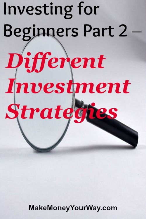 Different stock trading strategies