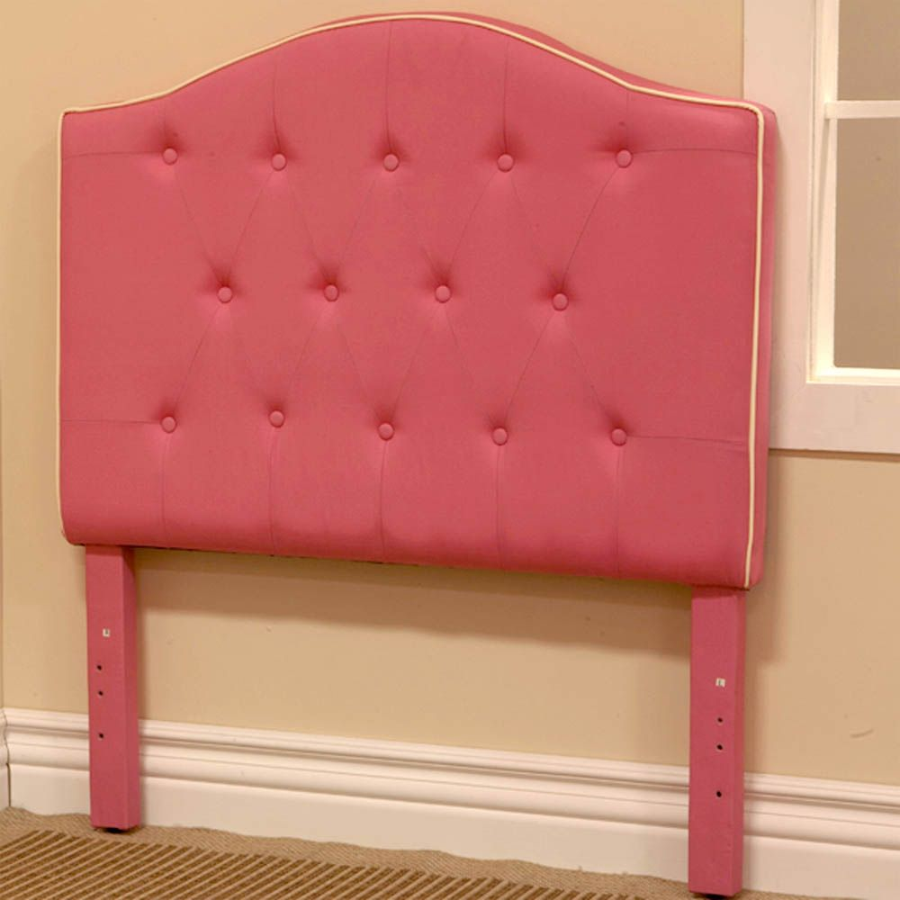 Kids Bedroom Headboard awesome pink twin headboard fabric for kids bed | headboards