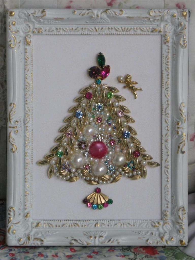 Shabby chic vintage bauble tree christmas diy crafts pinterest rboles navide os felices - Navidad shabby chic ...