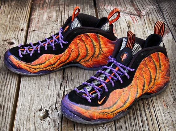 Nike Air Foamposite One 'Phoenix Rising' Custom Known for some of the  craziest customs sneaker ever seen, Chef of Gourmet Kickz is back at it  again with his ...