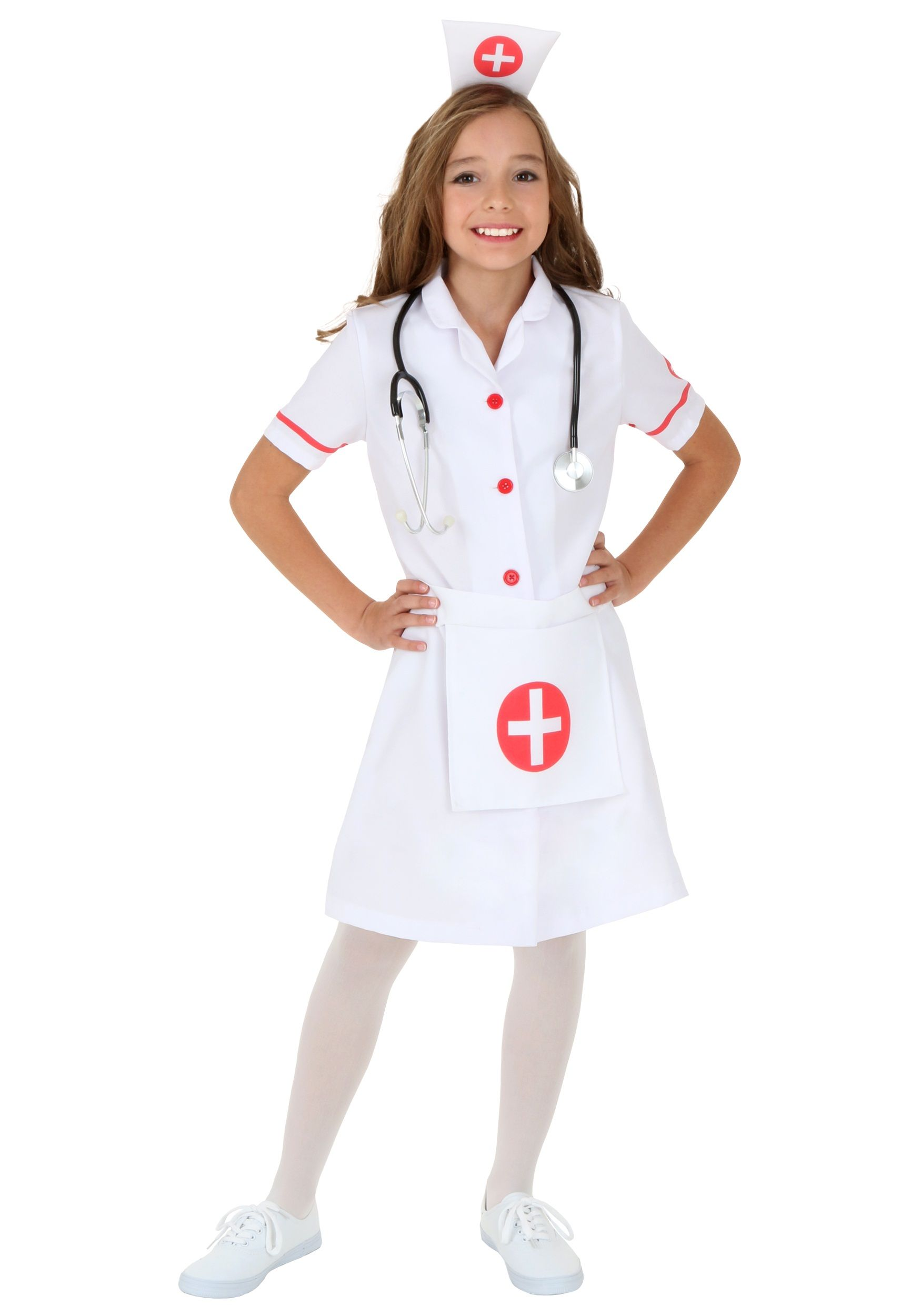 8dfeb2e4a3d7b Child Nurse Costume | Costumes in 2019 | Nurse costume, Nurse ...