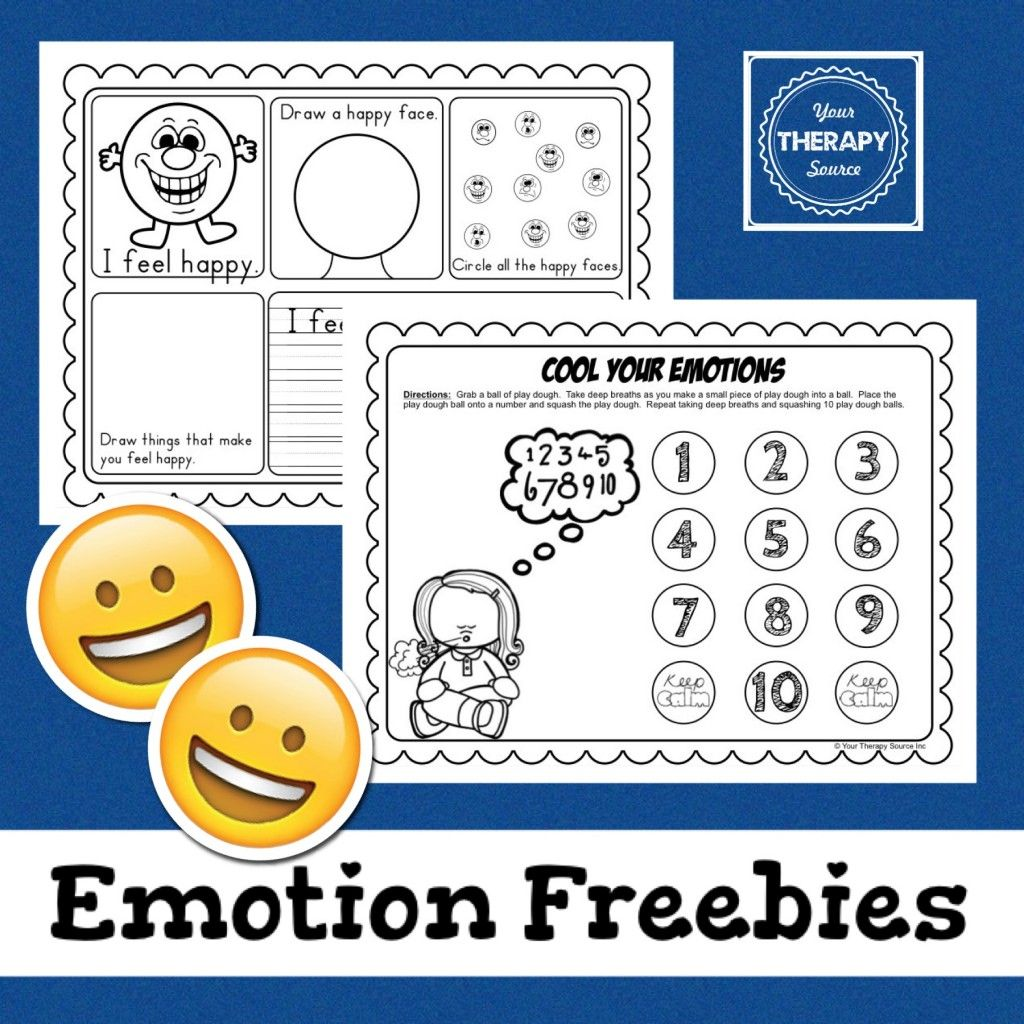 Your Therapy Source Emotions Freebie Practice Self