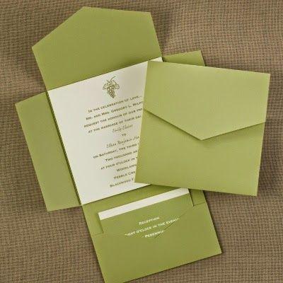 Occasions to Blog Pocket Wedding Invitations Invitation Link