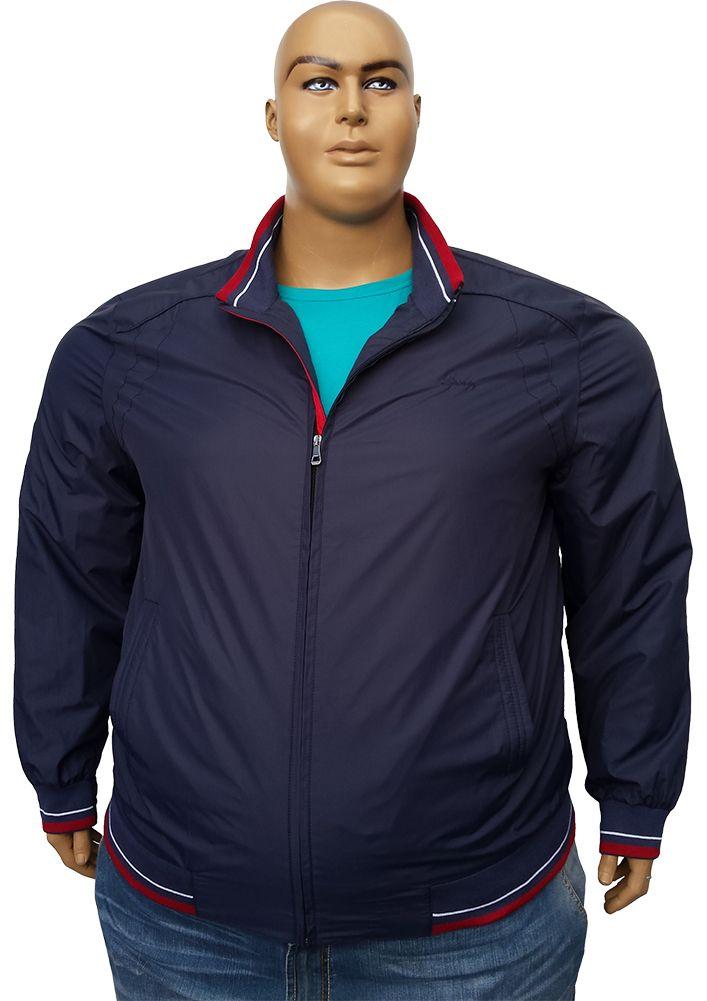 Большого размера тонкая непромокаемая куртка - ветровка.