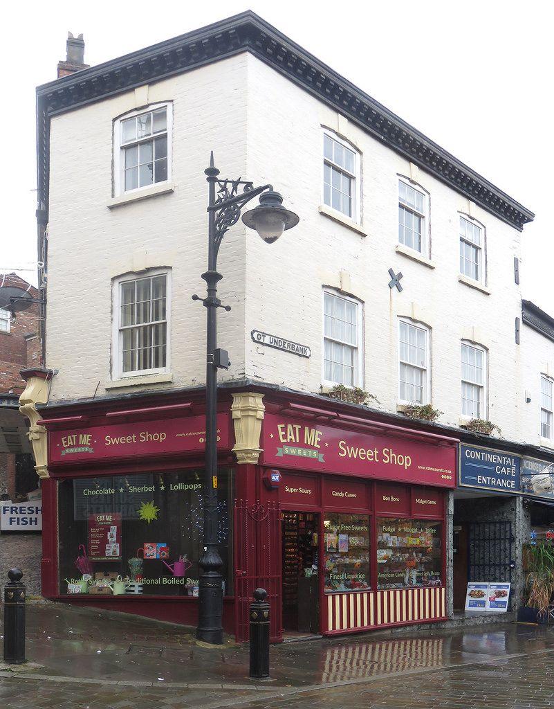 Sweet Shop Bridge Street Brow Gt Underbank Stockport Market Stockport Street