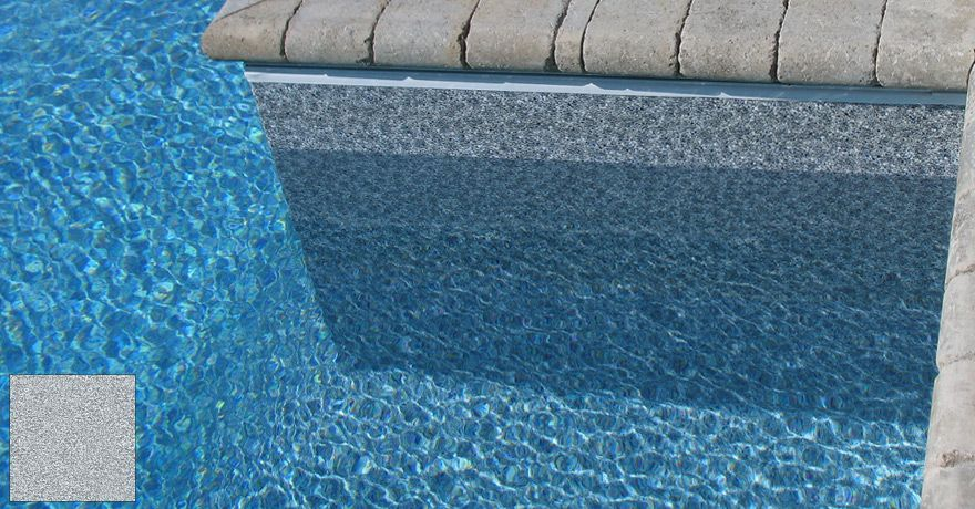 Without The Appearance Of Liner: Grey Pool Liner