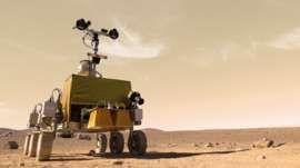 ExoMars test model