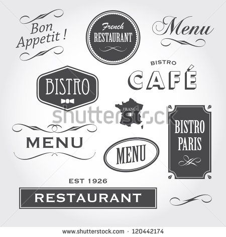 Bistro Stock Photos Images Pictures Cafe Sign French Restaurants French Font