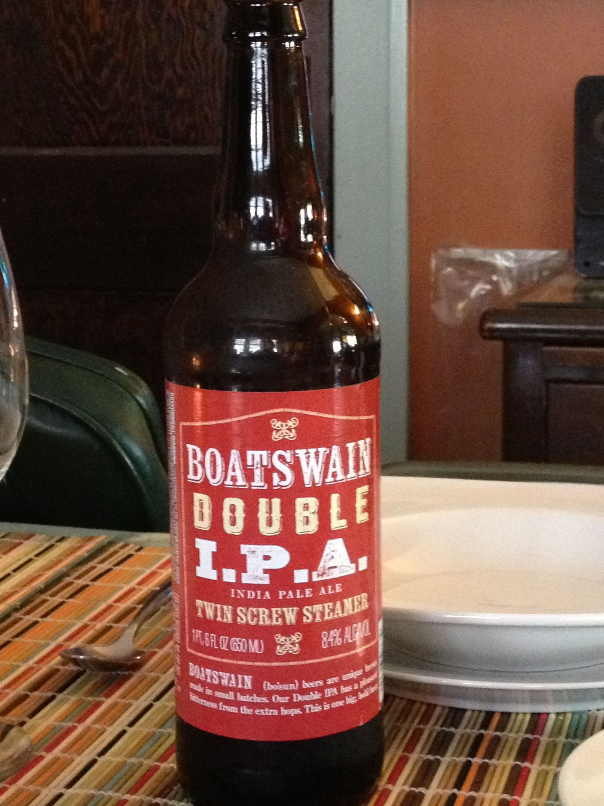 Boatswain Double Ipa From Trader Joes 8 4 Abv Brewed In Wisconsin Great Beer For The Price Homemade Beer Beer Craft Beer
