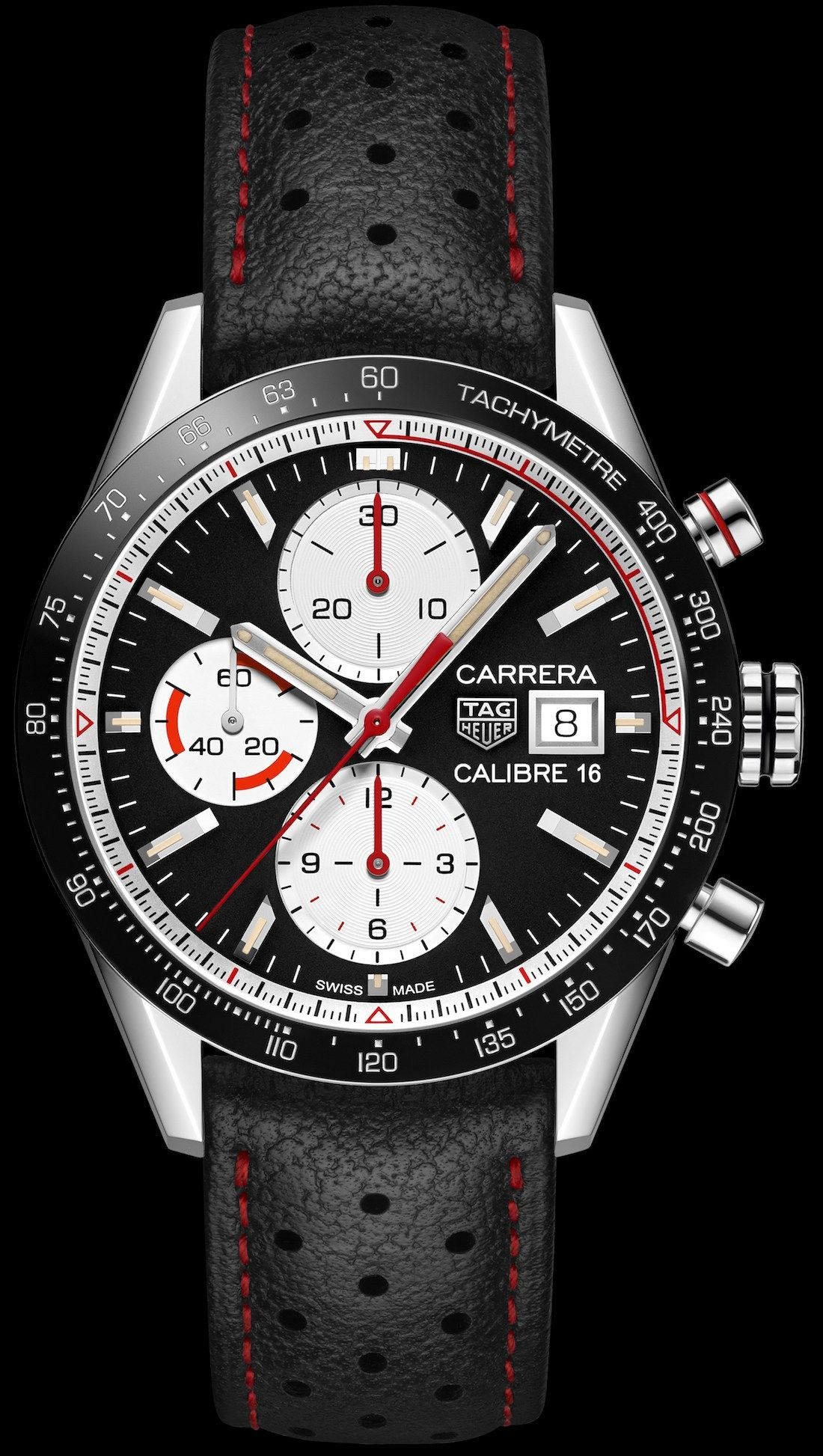 937618fe2227 Baselworld 2018  TAG Heuer Carrera Calibre 16 Chronograph Watch ...