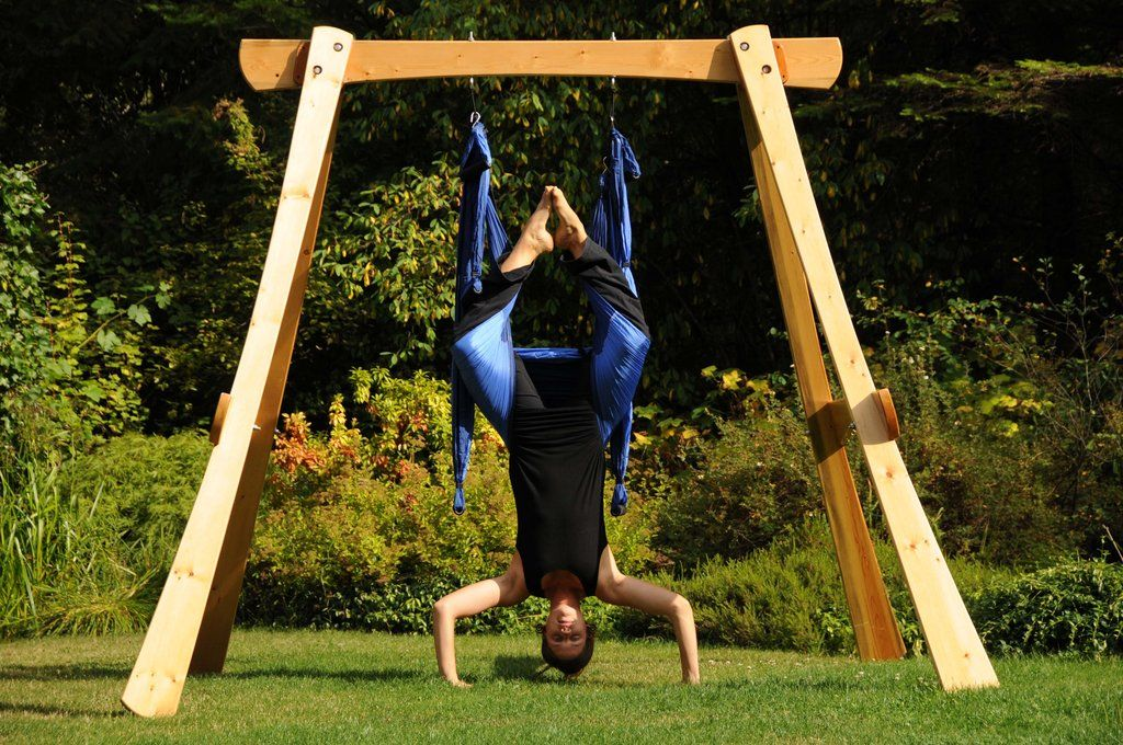 空中ヨガ Going To Build A Yoga Swing Frame For My Aerial Swing