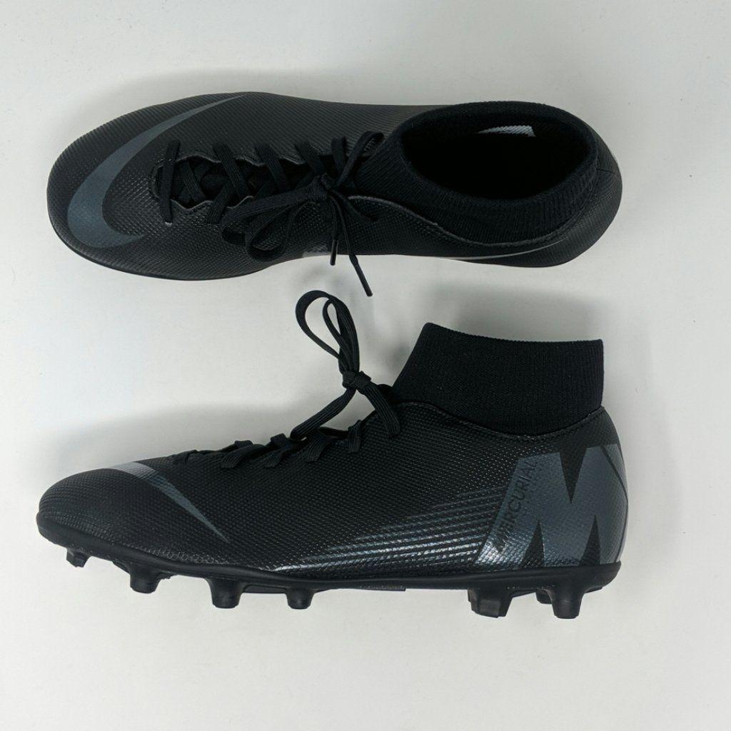 Nike Mercurial Black Soccer Cleats