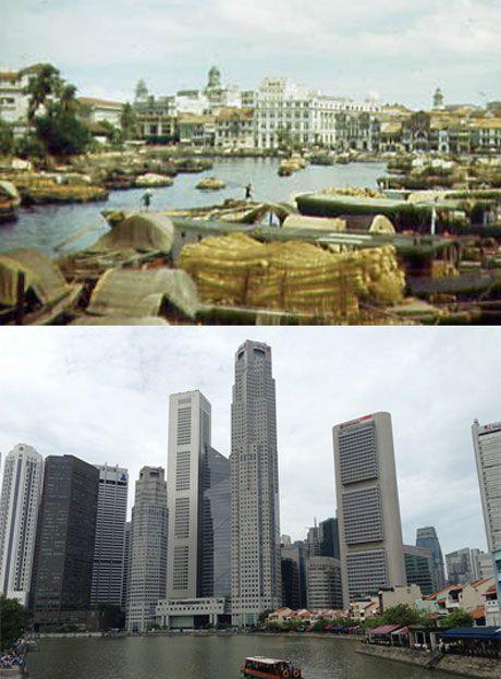 [Portfolio] développement urbain : avant-après éloquent de 7 villes | Blog Déclic