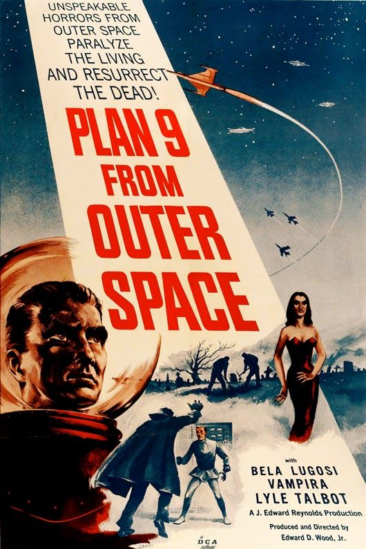 Vintage Posters Theater Vintage Poster - Printable Space movies