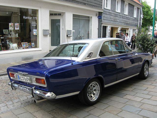 Ford Taunus P7a 20m Schone Autos Autos Und Motorrader Coole Autos