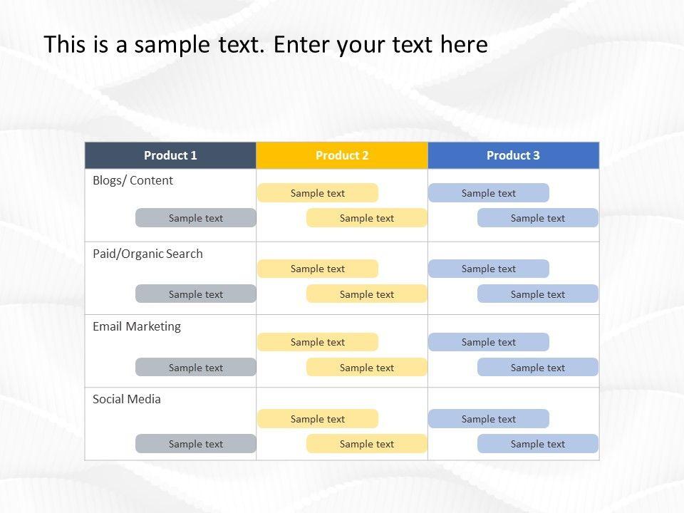 Digital Marketing Plan Powerpoint Template Digital Marketing