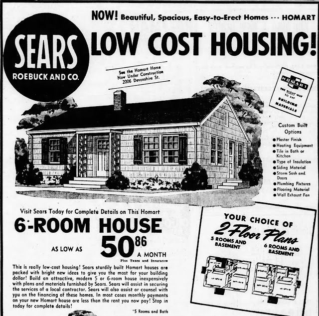A Happy Ending For A 1950 S Sears House Old Advertisements Old