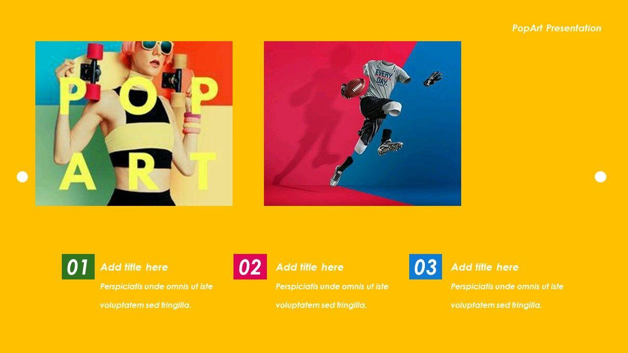 Pop Art Creative Powerpoint Templates Art Pop Creative