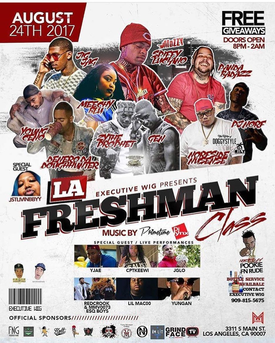 All hip hop 18 fans we have a freshmen class party tonight