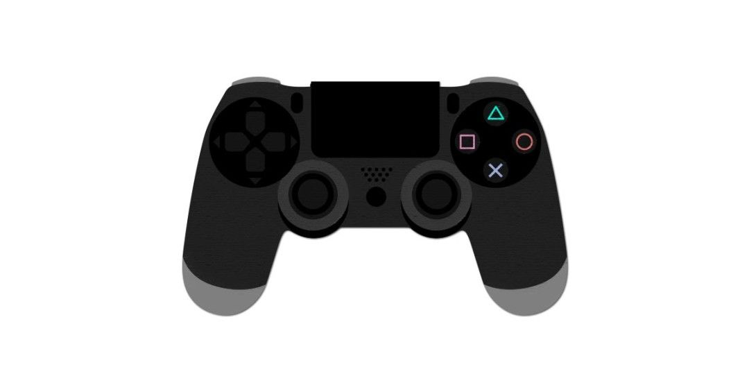 Playstation 4 Controller Vector And Png Free Download Playstation Free Download Control