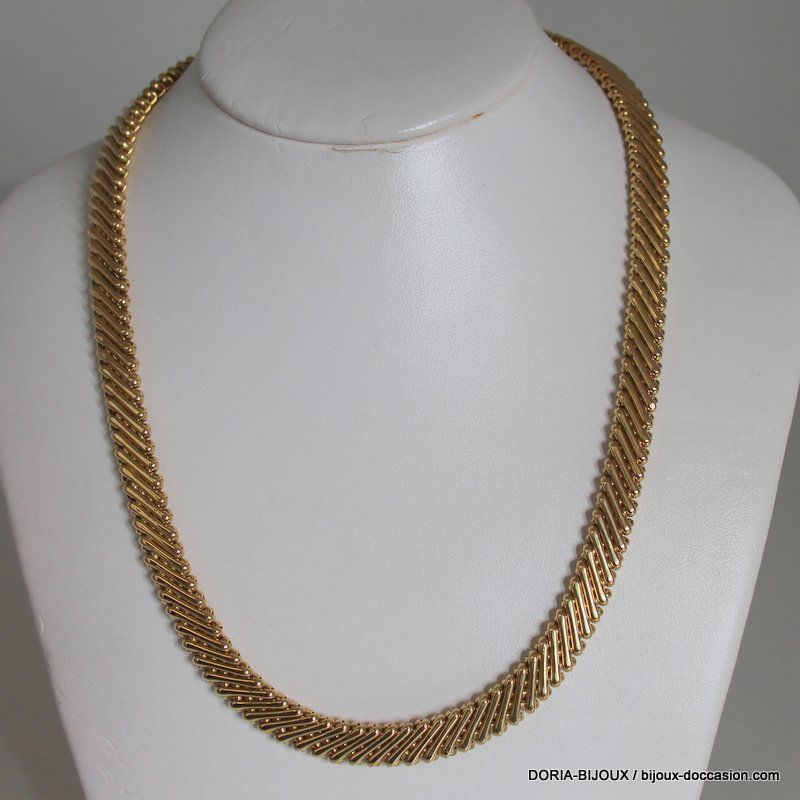 collier or homme occasion