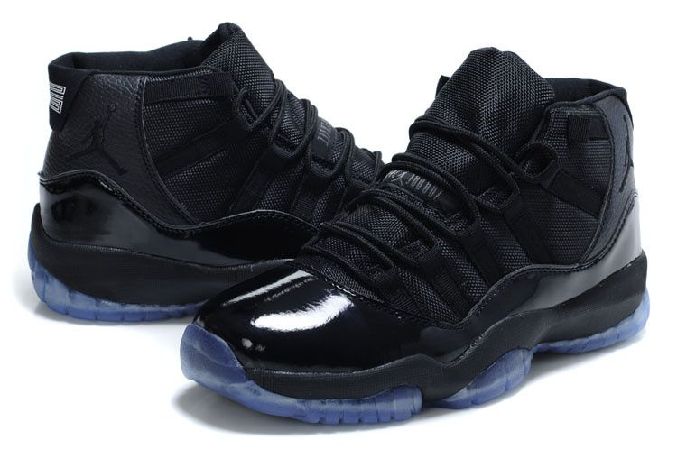 "official photos c1add 022da Air Jordan 11 Retro ""Blackout"" All Black/Ice Sole Online ..."