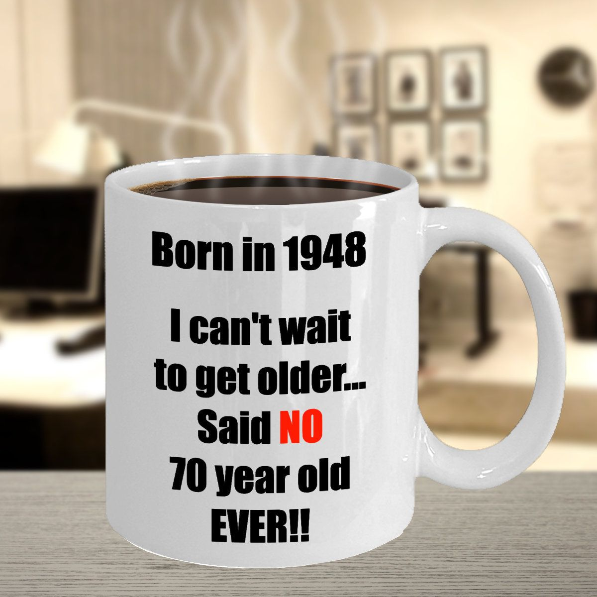 Excited To Share The Latest Addition My Etsy Shop 70th Birthday Coffee Mug