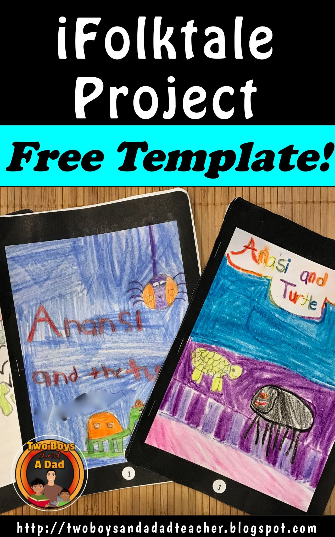 Easy And Free Folktale Project Template For Download