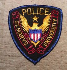 MARY'S POLICE PATCH ST