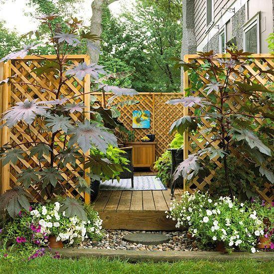 der sichtschutz im garten ist oft ein wesentliches element bei der gestaltung vor allem wenn die nachbarhuser nahe liegen oder einen direkten blick auf - Sichtschutzzaun Fur Ausenbereich Haus Dekoration Ideen Landschaft Garten Und Terrasse