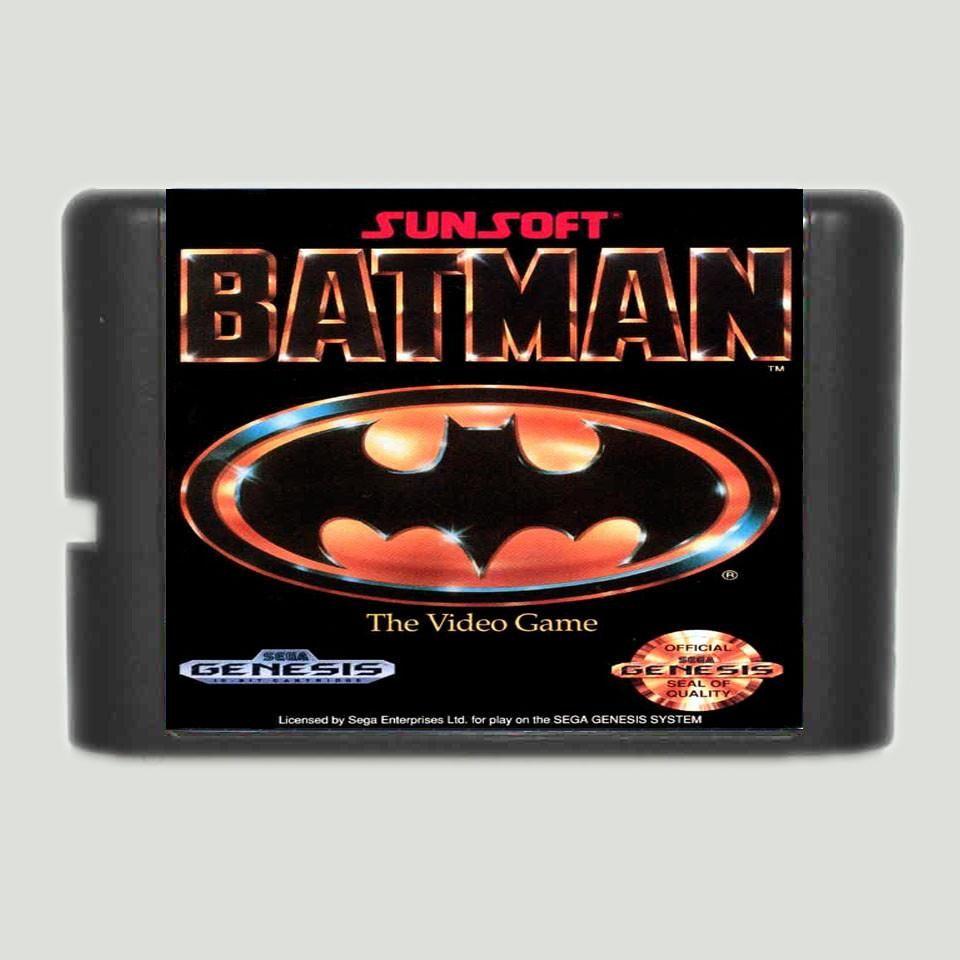 Batman 16 bit SEGA Genesis game
