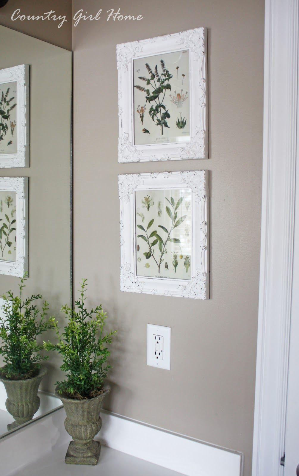 COUNTRY GIRL HOME: Free Botanical Printable Art   Craft ideas ...