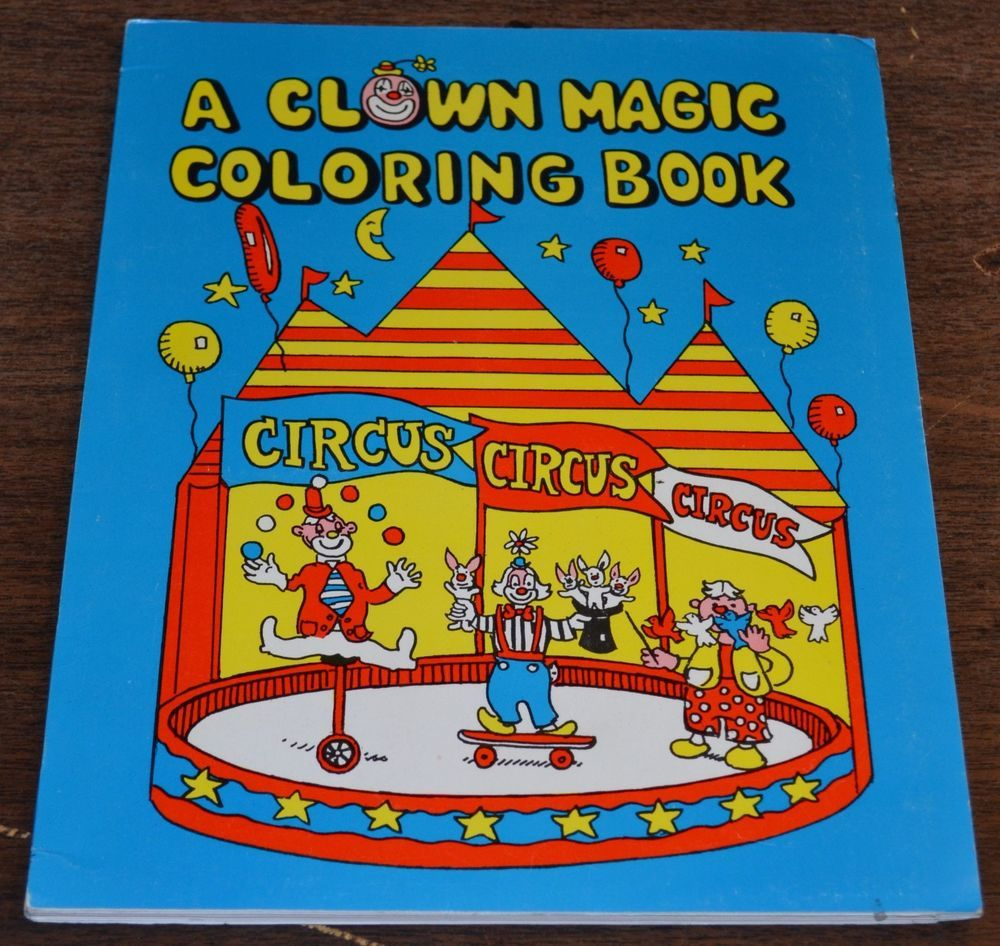 Haines House Of Cards Inc A Clown Magic Coloring Book Easy Magic Trick For Kids Magic Tricks For Kids Easy Magic Tricks Coloring Books