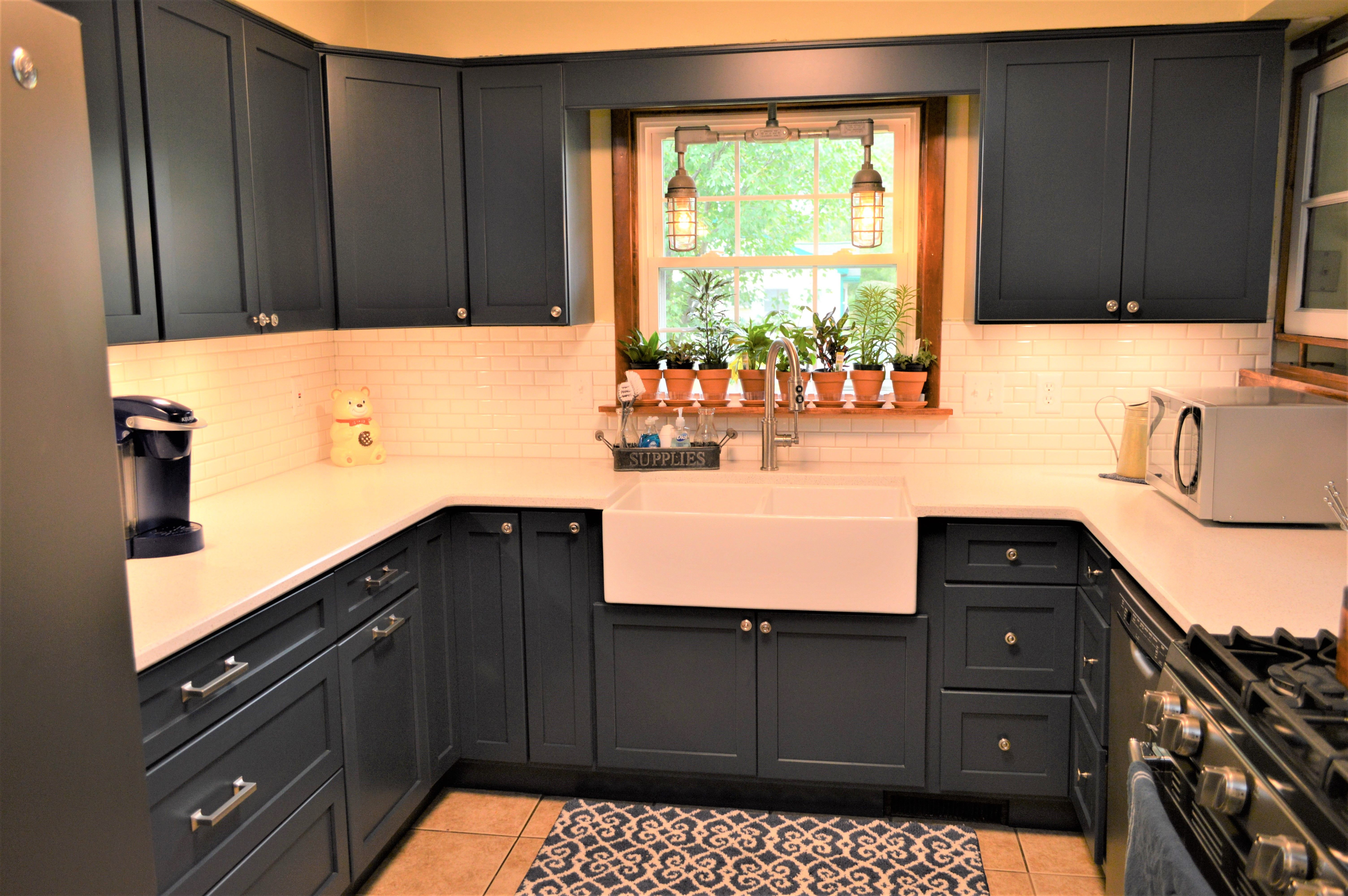 Pin on Painted Cabinetry: Bailey's Cabinet Customer Kitchens