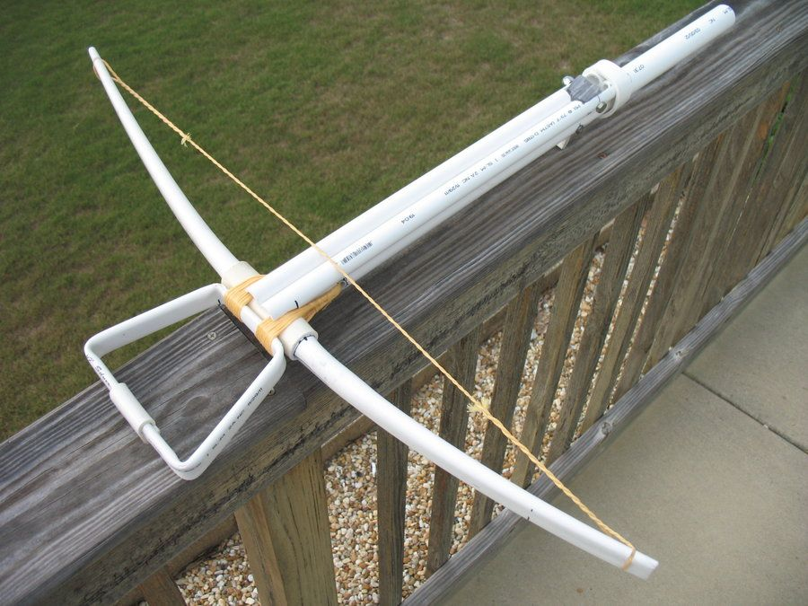 pvc projects | PVC Medieval Crossbow [1] by ~cowill on ... on