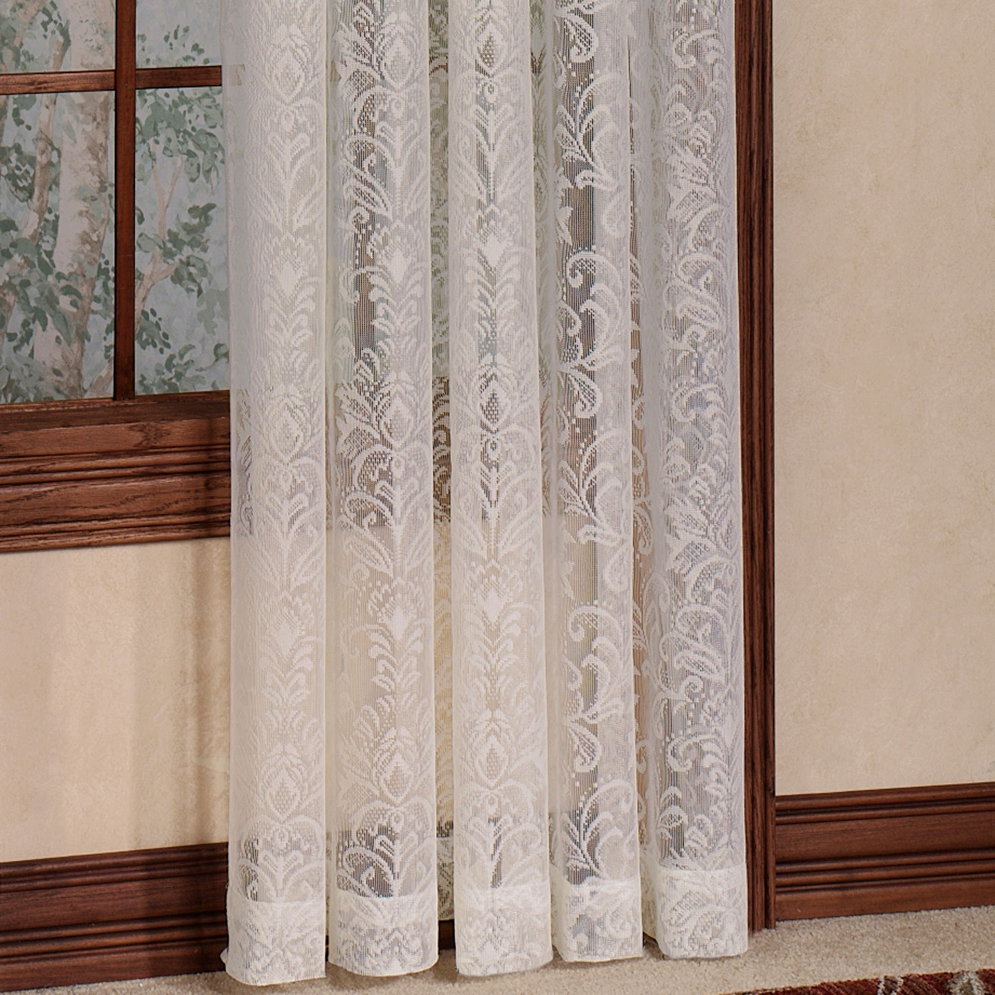 Gardinen Kindermobel Info In 2020 Lace Window Lace Curtain Panels Lace Window Treatments - Vorhang Zu Englisch