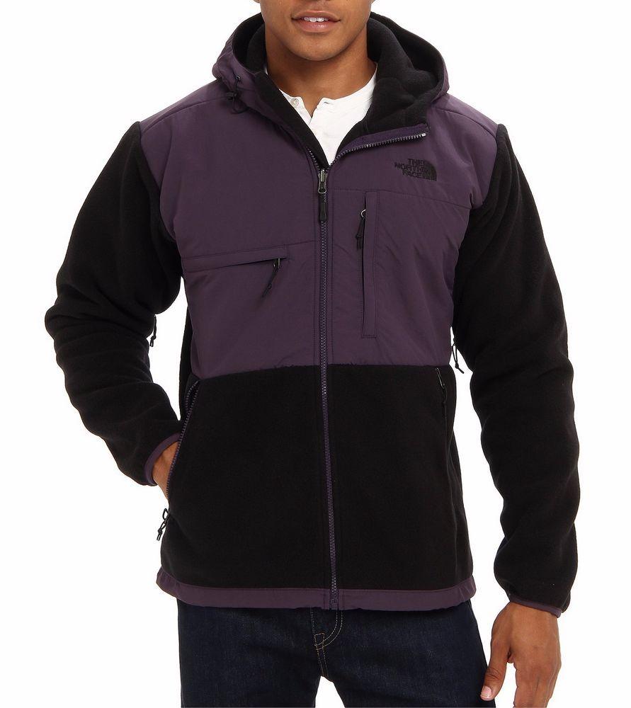 Nwt The North Face Men S Denali Hoodie Jacket Outwear Black Purple L 199 00 Thenorthface Basicjacket Outwear Jackets Hoodie Jacket North Face Mens [ 1000 x 891 Pixel ]