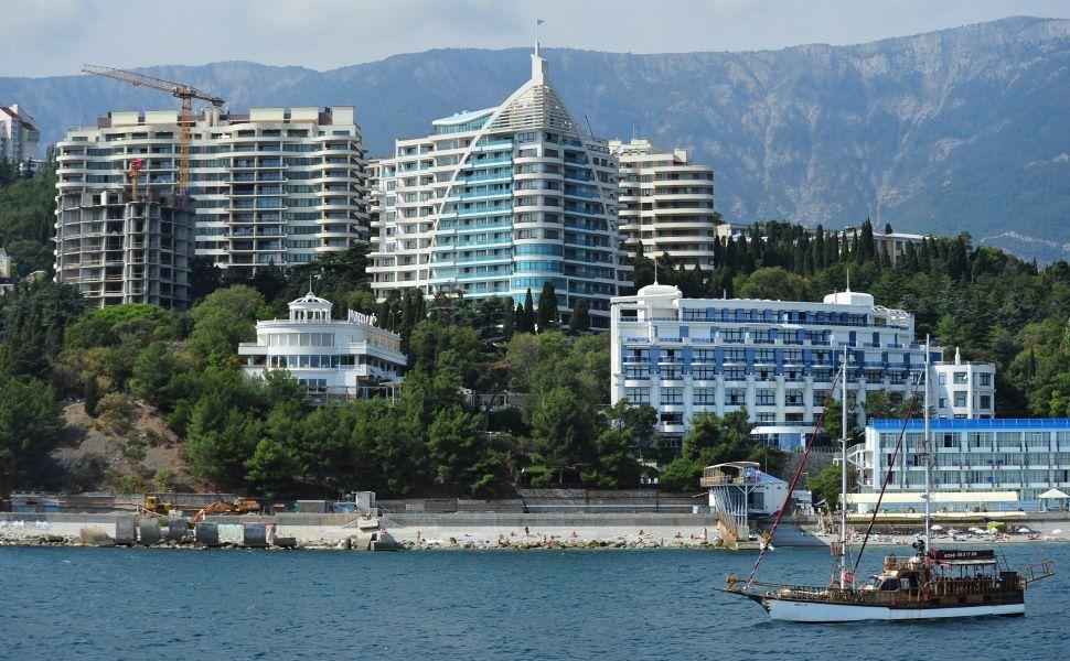 Yalta Crimea HD Wallpaper City, San francisco skyline