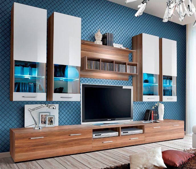 Meuble tv moderne meubles tv design meuble de - Meuble de tele design mural ...
