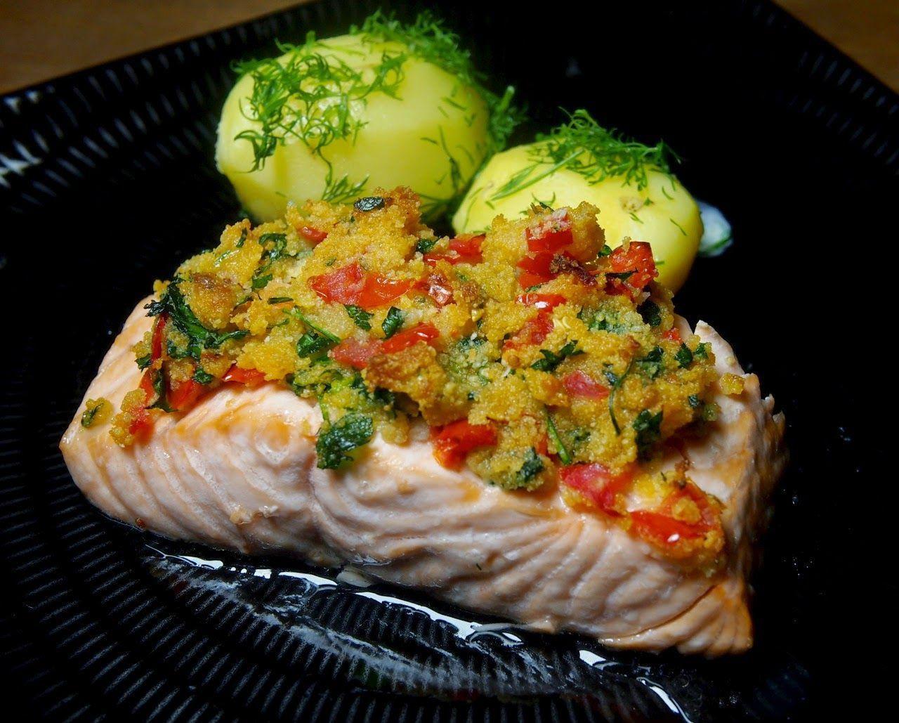 Blond Kitchen: Uunilohi ranskalaiseen tapaan