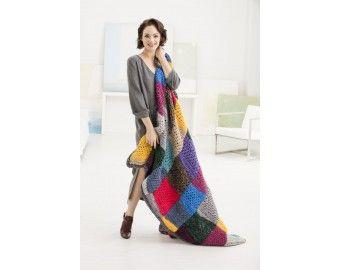 Crochet Kit - Clovis Afghan