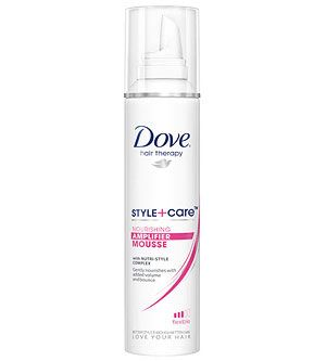 Best Volumizer Dove Style Care Nourishing Amplifier Mousse 4 Drugstores The Lightweight Foam Prot Dove Shampoo And Conditioner Hair Therapy Hairspray