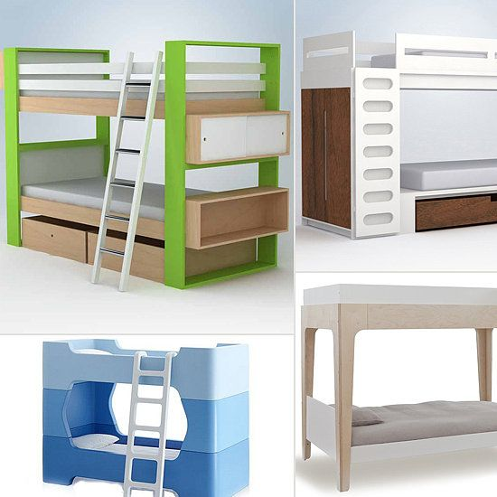 Modern bunk beds for kids kids room ideas contemporary - Cool beds for sale ...