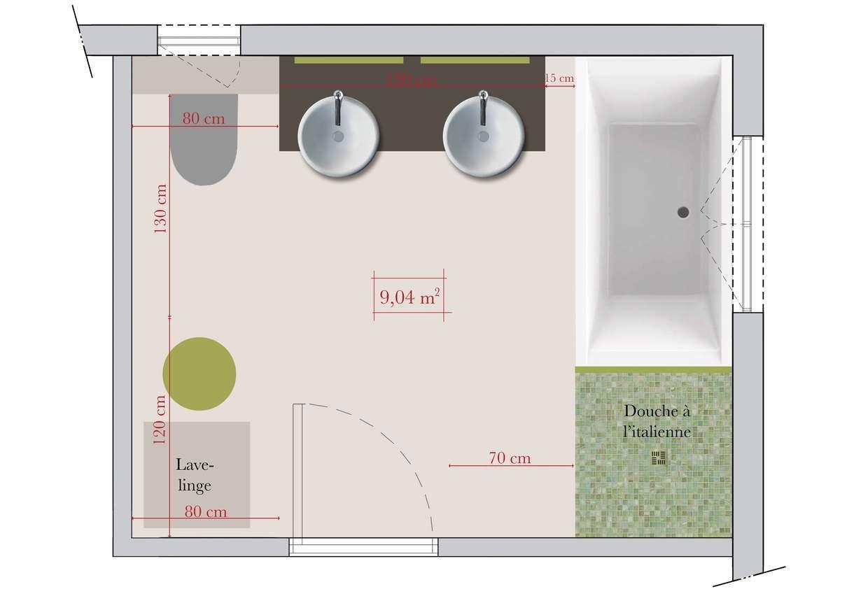 ide bonne circulation volumes salle de bains - Volume Salle De Bains