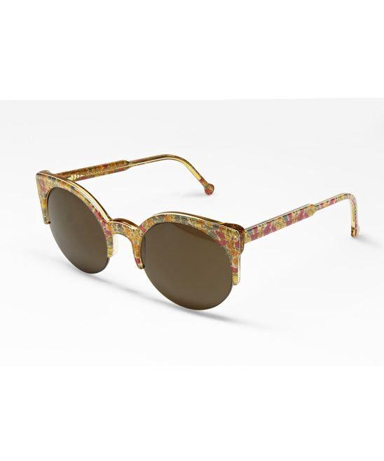 f888d62d47c62 Poppy   Daisy Retro Lucia Liberty Print Sunglasses, RetroSuperFuture ...