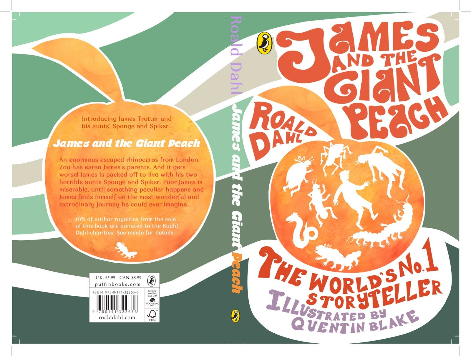 James And The Giant Peach Book Cover  Google Search